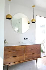 mid century modern bathroom vanity. Upcycle A Piece Of Vintage Furniture Into Bathroom Vanity For Casual, Yet Elegant Look. Mid Century Modern Pinterest
