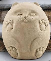 cat garden statue. Scat The Cat Garden Statue - Outdoor Art Pros