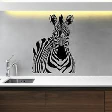 Small Picture Iconic Stickers Zebra Animal Wall Sticker Art Decal Vinyl