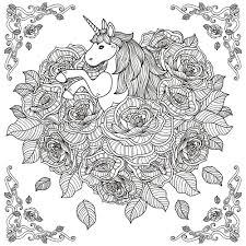 Licorne Mandala Par Kchunga Partir De La Galerie Calendrier De