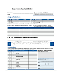 8+ Sample Bsa Medical Forms | Sample Templates