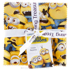 1 in a Minion Charm Pack - Despicable Me Minion Made - Quilting ... & 1 in a Minion Charm Pack Adamdwight.com