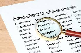 resume active words top most powerful resume words resume action words  harvard