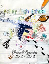 Valley High School Agenda Cover