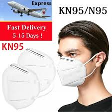 Fast Delivery Face Mask <b>FFP2 N95 KN95 KF94</b> Adults Professional ...