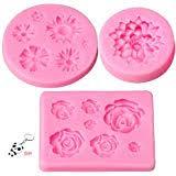 CanVivi Pink 6 <b>Cherry Blossom Shape</b> Ice Cream chocolate Egg ...