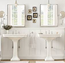vintage bathroom pedestal sinks. Amazing Bathroom With His And Her Pedestal Sinks. Vintage Sinks O