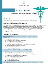 Example Of Pharmacist Resume Example Of Pharmacist Resume