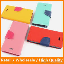 original mercury double color leather stand flip case cover with holder and credit card slot for iphone 7 7 plus samsung s7 edge spigen cell phone cases