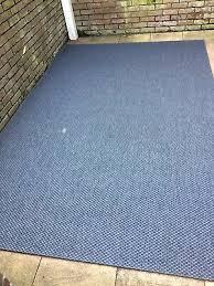 blue ikea morum indoor outdoor rug 2m x 3m