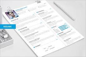 Free Creative Resume Cv Templates Ideal Free Download Creative