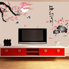 plum wall stickers removable wallpaper children kid room cute hot sale decor large decoration adhesive plum child bedroom wall art stickers uk wall art tree  on large wall art stickers uk with plum wall stickers removable wallpaper children kid room cute hot