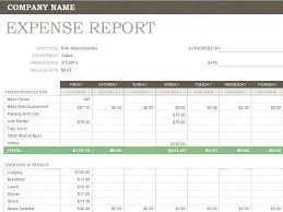Expense Template In Excel Weekly Expense Report For Microsoft Excel