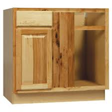 Blind Base Corner Kitchen Cabinet In Natural