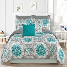 What size is a queen comforter Pin Tuck Crest Home Sunrise Queen Size Bedding Comforter Piece Bed Set Teal Blue And Gray Backtowhatevercom Crest Home Sunrise Queen Size Bedding Comforter Pc Bed Set Teal
