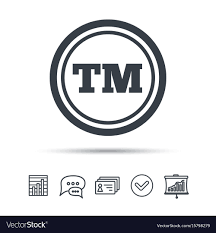 Tm Trademark Symbol Registered Tm Trademark Icon Intellectual Work