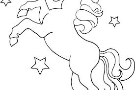 Cute Unicorn Coloring Pages Printable Printable Coloring Page For Kids