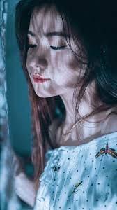 Asian Cute Girl Lights Photography 4K ...