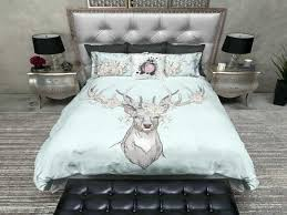 skull bedding sets queen skull bed sets queen luxury country chic deer and rose duvet bedding