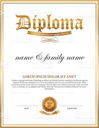 diploma certificate design template stock vector art  diploma certificate design template royalty stock vector art