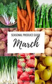 Whats In Season March Natalies Health