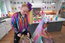 And as the singer and former dance moms star gives a tour of the exterior fans will be able to spot her. Watch Jojo Siwa Babysit North West For A Day