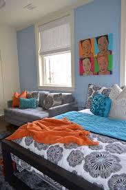 baroque loveseat sleeper in kids eclectic with allen roth area rug next to ethan allen sofa ideas alongside teenage girl bedroom