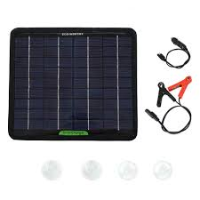 ECO-WORTHY 5W <b>18V Solar Panel Kit</b> for RV Car Motorcycle ...