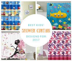 cool shower curtains for kids. Best Kids\u0027 Shower Curtain Designs For 2017 Cool Curtains Kids