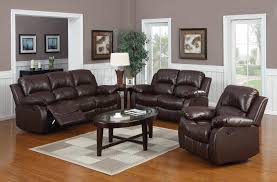 Leather Reclining Living Room Sets Download Peachy Design Ideas Leather Recliner Sofa Deals Teabjcom