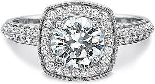 Precision Set Knife Edge Diamond Engagement Ring 7337