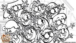 The Loud House Coloring Pages Starklx