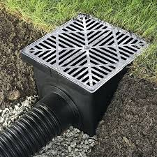 landscape drainage pipe catch basin and pipe landscape corrugated drainage pipe
