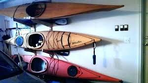 outdoor kayak storage rack kayak rack for garage storage plans build outdoor getting ready to start
