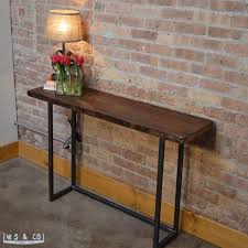 metal console table. console table - 48\ metal .