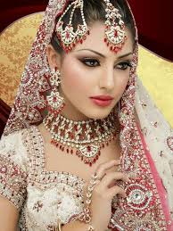 latest 2016 bridal makeup trend 6