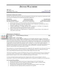 Resume Examples For Sales