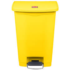 Stainless Steel Trash Can 13 Gallon Step | 30 Gallon Kitchen Trash Can | 13  Gallon