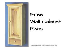 free wall cabinet plans woodwork city free woodworking plans wall cabinet plans