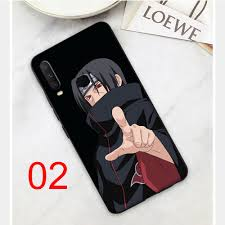 Naruto Itachi Design Black Soft Case VIVO Y91 Y91C Y93 Y95 Y11 Y12 Y17  Cover