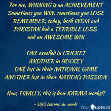Quotes About Winning And Losing Adorable For Me WINNING Is An ACH Quotes Writings By R Chameli