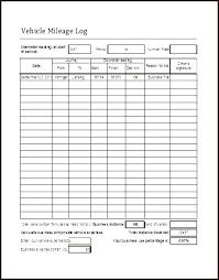 Mileage Tracker Sheet Mileage Log Book Template Gallery One With Mileage Log Book Template