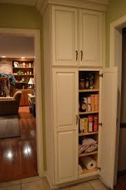 Orion 4 Door Kitchen Pantry Narrow Pantry Cabinet On Wheels Best Home Furniture Decoration