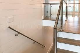 stairs railing glass