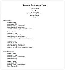Reference Format Resumes Resume Reference Format Great Service