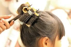 七五三3歳の女の子の髪型はボブに飾りでどうですか 2歳差姉妹