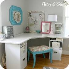 diy office desk ikea kitchen. craft room corner desk half for crafts office oh i love this idea new diy ikea kitchen
