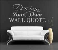 Small Picture 30 Make Your Own Wall Decals Can Customize Makers Who Create