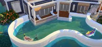 sims 4 pool cc best swimming pool