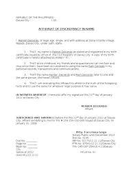 Bursary Affidavit Sample Filename My College Scout